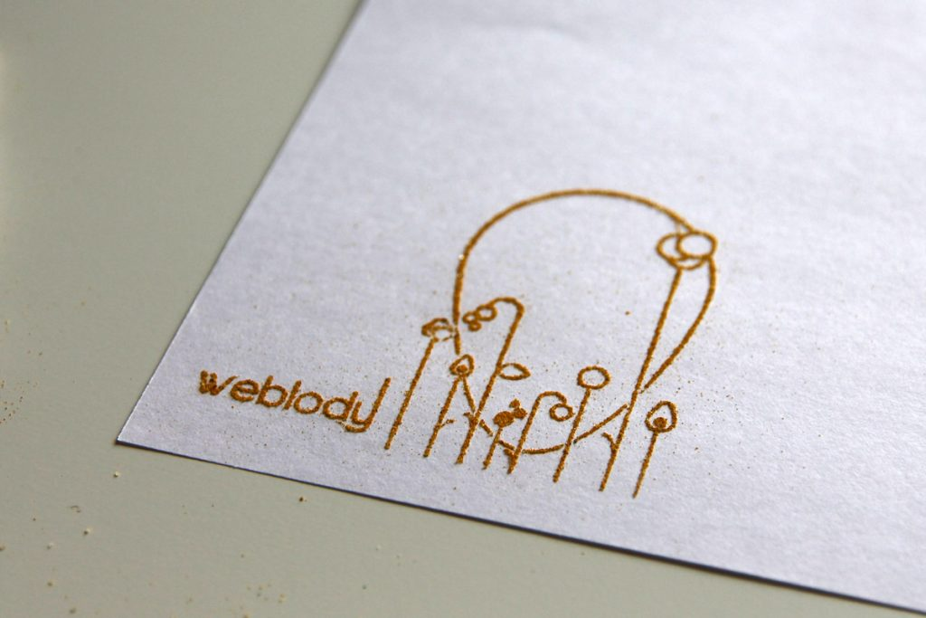 Carte de visite Tampon, création Weblody