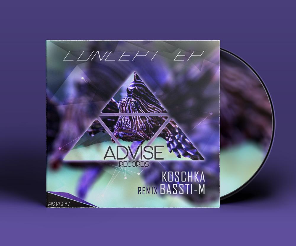 Décembre 2016 - EP digital pour Advise Records