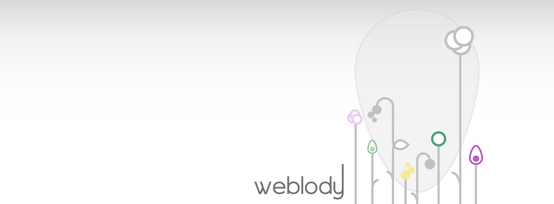 Weblody, mon univers artistique, mon logo