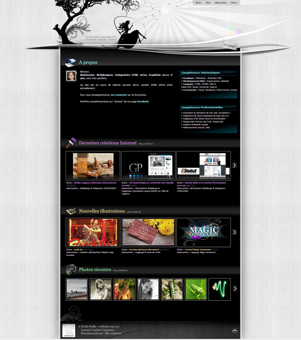 weblody.com, le site version n°3