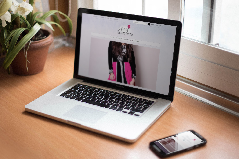 2015 - Refonte e-commerce, vente de caftan