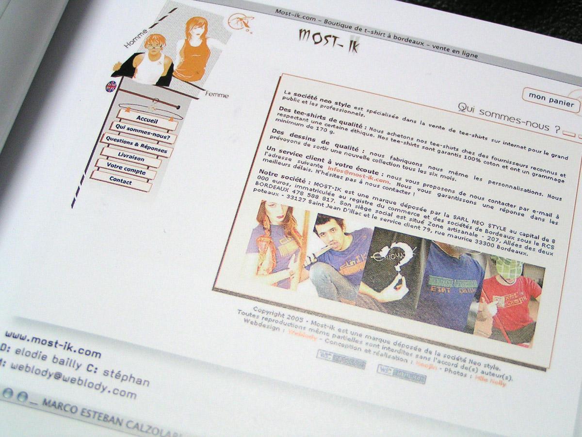 """Site Sélectionné dans le célèbre livre """"Web design Index 6"""" , pepin press"""