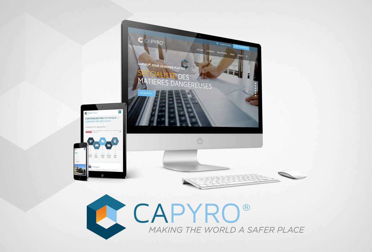Création site internet capyro® multi-support et multilanguage