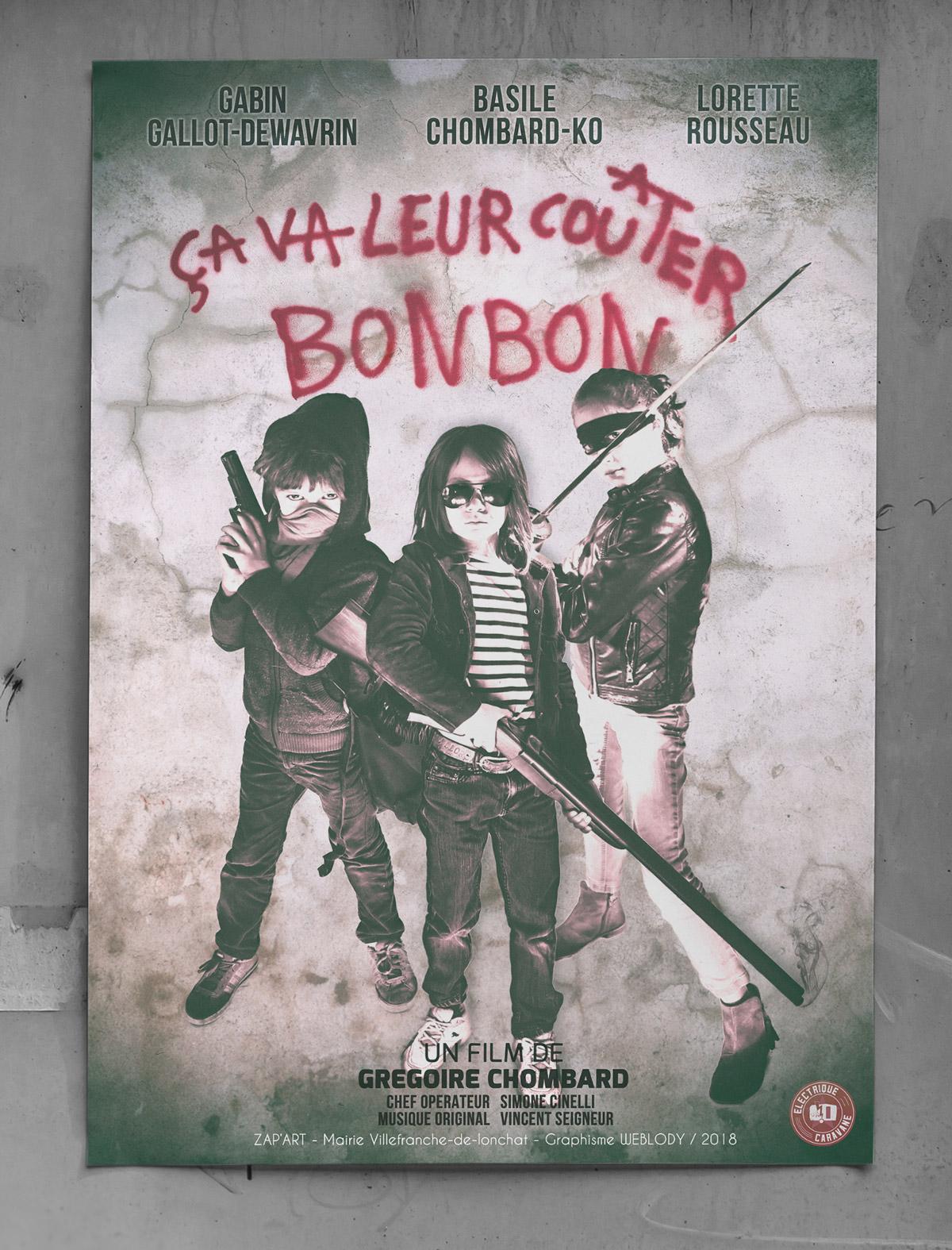 Affiche court métrage de Grégoire Chombard et Simone Cinelli