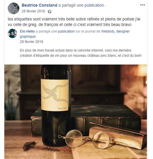 Recommandation graphiste pour réaliser des étiquettes de vins
